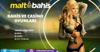 Bahis ve casino oyunları